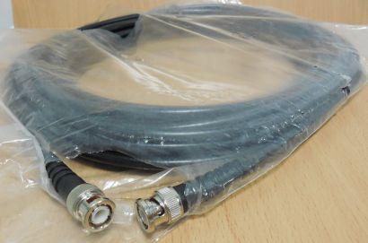 BNC RG59 B U Koaxial Video Kabel 15m BNC Stecker Stecker 75 Ohm schwarz* pz774