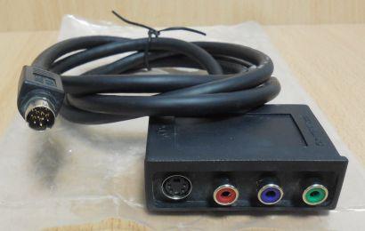 nVidia 5522A001-001-LF Rev E Vivo Adapter RGB S VHS Video Composite Kabel* pz793
