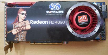 Sapphire Radeon HD4890 PCIe 1GB DDR5 256Bit CrossFireX HDCP Dual DVI TV-Out*g420