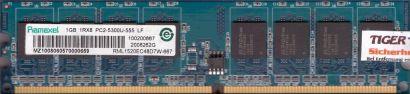 Ramaxel RML1520EC48D7W-667 PC2-5300 1GB DDR2 667MHz RAM HP 377726-888* r704