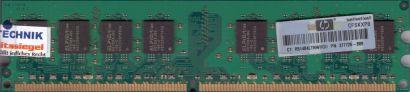 Elpida EBE11UD8AJWA-6E-E PC2-5300 1GB DDR2 667MHz RAM HP 377726-888* r706