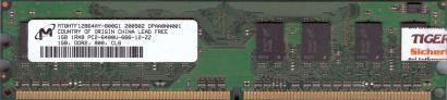 Micron MT8HTF12864AY-800G1 PC2-6400 1GB DDR2 800MHz HP 404574-888 RAM* r710