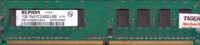 Elpida EBE10UE8AEFA-8G-E PC2-6400 1GB DDR2 800MHz HP 404574-888 RAM* r711
