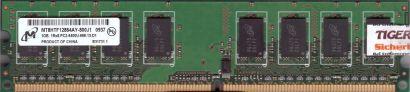 Micron MT8HTF12864AY-800J1 PC2-6400 1GB DDR2 800MHz HP 404574-888 RAM* r712