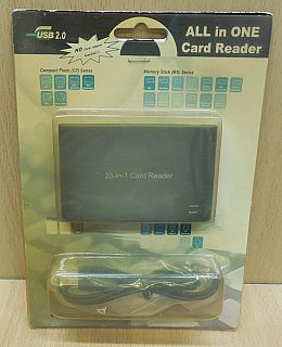 23 in 1 USB 2.0 Kartenleser Laptop Notebook Computer PC Card Reader* kl48