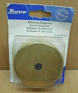 Kopp Abzweig Baldachin messing brass 3418.0008.8* so847