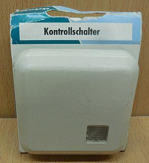 Kopp Ambiente creme weiß Kontrollschalter 6846.7107.5 Unterputz beleuchtet*so850
