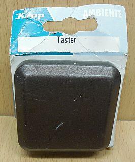 Kopp Ambiente palisander braun Taster 6843.2607.6 Unterputz Schalter* so854