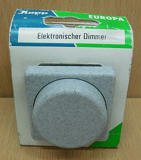 Kopp Europa granit Elektronischer Dimmer 8033.3408.7 40 400W konv. Trafos* so855
