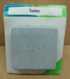 Kopp Europa granit grau Taster 6143.3408.9 Schalter* so856