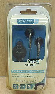 Vivanco ISRN 20 B Nackenband Stereo Ohrhörer 3,5mm Kopfhörer 110dB 1,2m* so867