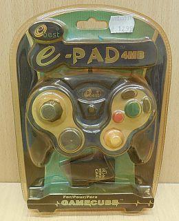 Ebest EB0011071 Set e PAD Controller 4MB Memory Card für Nintendo Gamecube*skz03