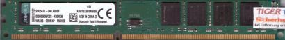 Kingston KVR1333D3N9 8G PC3-10600 8GB DDR3 1333MHz 99U5471-040 A00LF RAM* r722