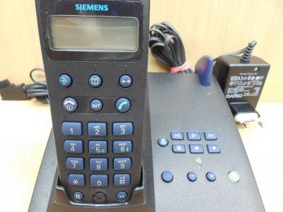 Siemens Gigaset 3015 Basis mit AB + Mobilteil 3000 Netzteil TAE Kabel* so858