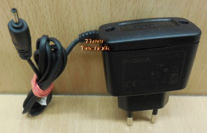 Nokia AC-3E AC DC Adapter 5V 350mA Netzteil 5800 6300 N70 N73 N90 N95 E90* nt890