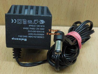 Salcomp C39280-Z4-C494 SNG 29-a AC Adapter 9.3V 210mA Netzteil Gigaset* nt892
