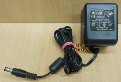Amigo AM-12800V AC DC Adapter 12V 800mA Netzteil AC Adaptor* nt893
