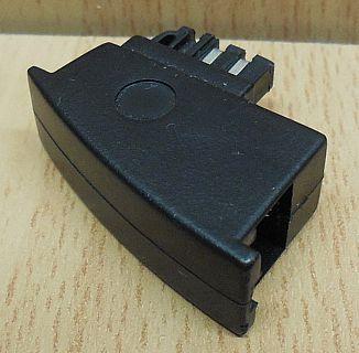 Telefon Adapter TAE N auf RJ11 Modular zum Anschluss von AB Fax Modem* so875
