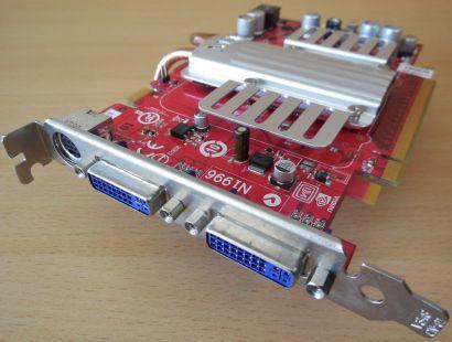 MSI NX8600GT-T2D256EZ-V102 Passiv PCIe 256MB GDDR3 128Bit 2xDual DVI TV-Out*g423