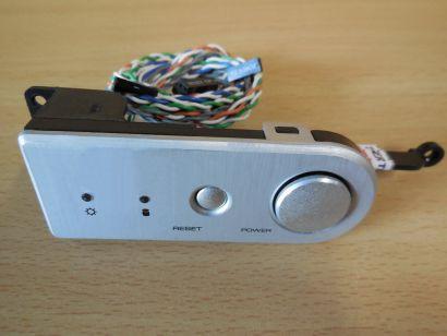 Cooler Master Power + Reset Schalter Power + HDD LEDs Leiste für Gehäuse* pz598