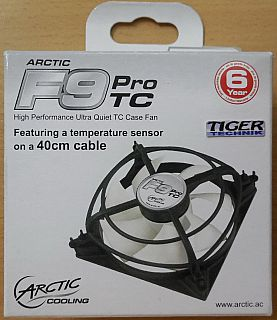 ARCTIC F9 PRO TC High Performance Lüfter Ultra Leise 92mm 0.4dB 40cm Kabel*GL117