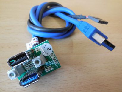 MEDION Desktop PC MT22 Art Nr 20011000 Front Panel USB 3.0 + 2.0* pz601