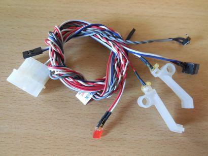 Sharkoon Gehäuse VG4-W ATX Schwarz Rot Power+Resetschalter Power+HDD LEDs*pz606