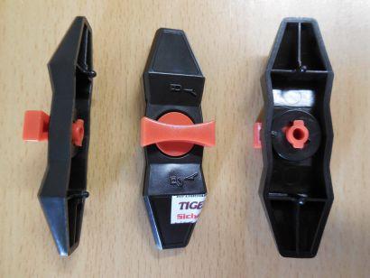 Sharkoon Gehäuse VG4-W Rot 3xWerkzeuglose Klammer für Festplatten HDD Clip*pz608