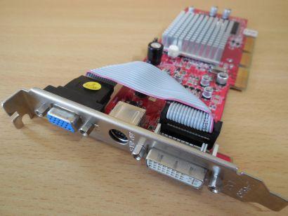 ATI R92LE v1.2 Tul Radeon 9200 SE AGP 128MB 64Bit DDR VGA DVI TV-Out* g428
