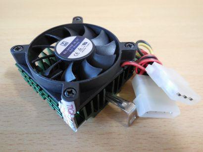 Intel AMD Sockel 7 370 462 A CPU Kühler Maxima EC-5010 50mm Lüfter 4 pin* ck325