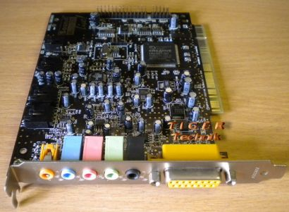 Creative SB0060 Soundkarte PCI Sound Blaster Live! 5.1 bis Windows XP s07