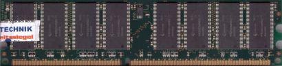 Qimonda HYS64D64320HU-5-C PC-3200 512MB DDR1 400MHz Arbeitsspeicher DDR RAM*r726