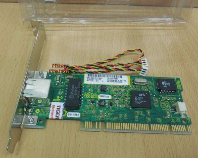 3COM 3C905CX-TX-M Fast Ethernet 32 Bit PCI 10 100 Mbit Netzwerkkarte* nw87