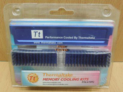 Thermaltake A1092 Memory Cooling Kit Speicher Kühlkörper Heatspreader Alu* pz807