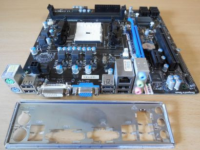 MSI FM2-A55M-P33 MS-7721 Ver3.2 Mainboard +Blende AMD Sockel DDR3 VGA DVI* m949