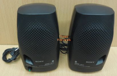 Sony SRS-A11 Active Speaker System PC Laptop Walkman Lautsprecher aktiv* pz806