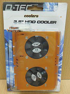 Q-Tec 13229 3,5 zoll HDD Cooler Kühler HDD Festplattenkühler Molex 4pin* gl122