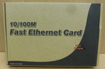 Realtek RTL8139D 10 100Mbps DSL LAN Netzwerkkarte Fast Ethernet PCI NEU OVP*nw86