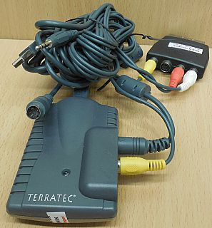 TerraTec Cameo Grabster 200 AV Video Converter Grabber USB2.0 SCART Adapter*tk56