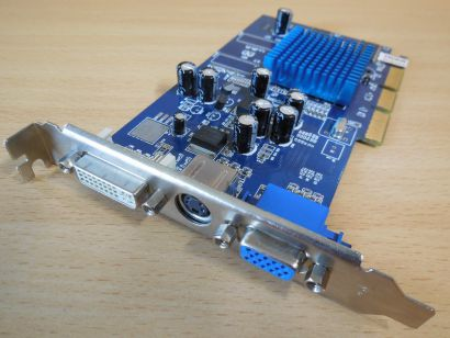 ATI Radeon 9200 SE XS-2 128MB 64Bit DDR VGA HDTV-Out DVI AGP Grafikkarte* g432