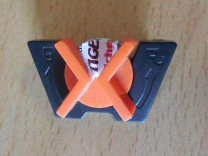 PC Gehäuse CSL Sprint Speed 12523 Gehäuse Floppy Kartenleser Klammer Clip* pz619