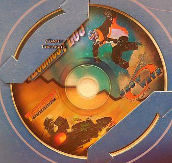 Thunder Brigade + Snow Wave Avalanche Retro PC Spiel 2 in 1 CD ROM Games* pcsp01