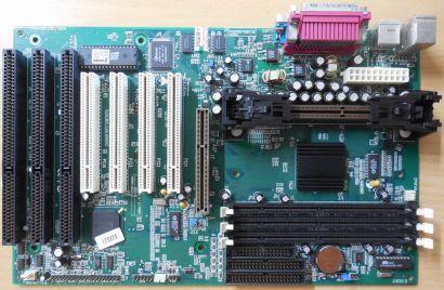 QDI BrillianX 2.0(S2.1) Mainboard +Blende Intel Slot 1 P6I440BX B1S 3x ISA* m953
