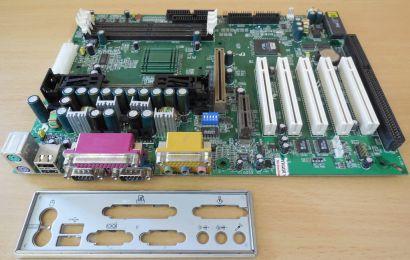 EPoX EP-7KXA Rev0.4 Mainboard +Blende AMD Slot A VIA KX133 SDRAM 1x ISA AGP*m956