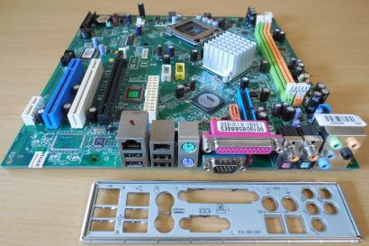 MSI MS-7318 Ver1.1 Medion MD 8818 8822 Mainboard +Blende Sockel 775 mBTX* m958