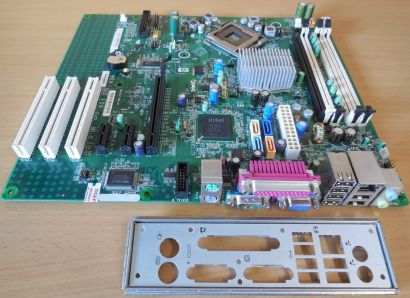 HP Grizzly Rev 0B 437795 437354 001 Mainboard+Blende Sockel 775 DC7800 CMT* m960