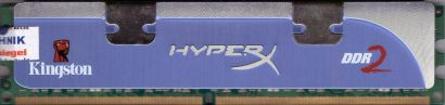 Kingston HyperX KHX6400D2LLK2 2G PC2-6400 1GB DDR2 800MHz 9905316-025 A02LF*r731