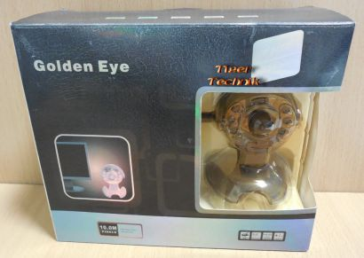 Golden Eye Webcam USB2.0 Laptop Notebook PC Video Camera Windows 7 10* pz819