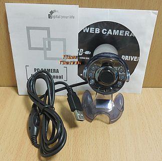 Golden Eye Webcam USB2.0 Laptop Notebook PC Video Camera Windows 7 10* pz819