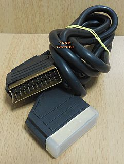 Scart Kabel 1,8m 21 pol vollverschaltet 2x Stecker Video TV DVD DVB-T* so884